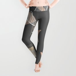 Atomic Era Boomerangs Leggings