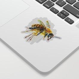 Watercolor Bee Sticker