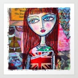 Creative Spirit Art Print