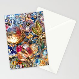 Ruby Liberty Dragonfly Stationery Cards