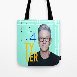Time 4 Tyler Oakley  Tote Bag
