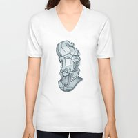classy V-neck T-shirts featuring classy by paul nunez