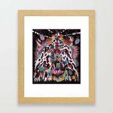 Kali Krystallizer Framed Art Print