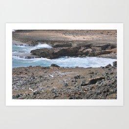 Aruba Oceananic Outback Art Print
