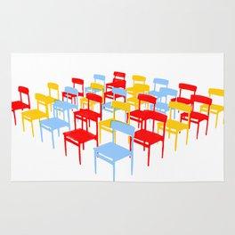 25 Chairs Rug