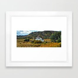 The Farm in Fall by Leslie Harlow Framed Art Print