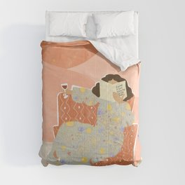 A Wine a Day Comforters