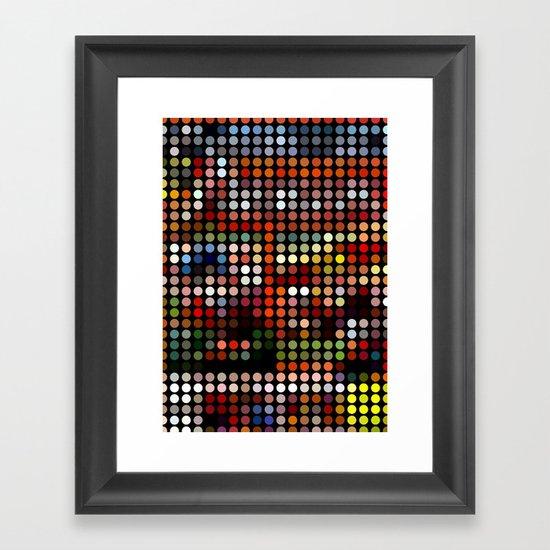Comic Framed Art Print