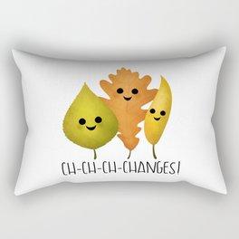 Ch-Ch-Ch-Changes! Rectangular Pillow