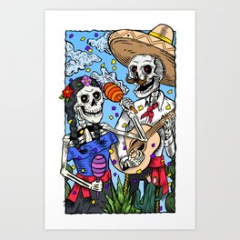 Reventón Art Print