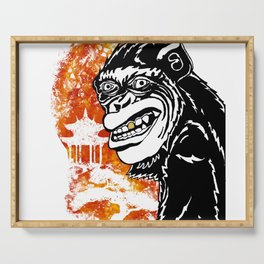 Year of the Monkey Serving Tray