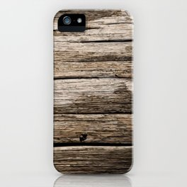 Legno Mr iPhone Case