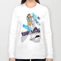 ezra koenig Long Sleeve T-shirts featuring Ezra  by underthebridge