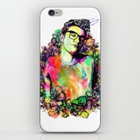 the smiths iPhone & iPod Skins featuring I blame everything on The Smiths by Ben Hawke