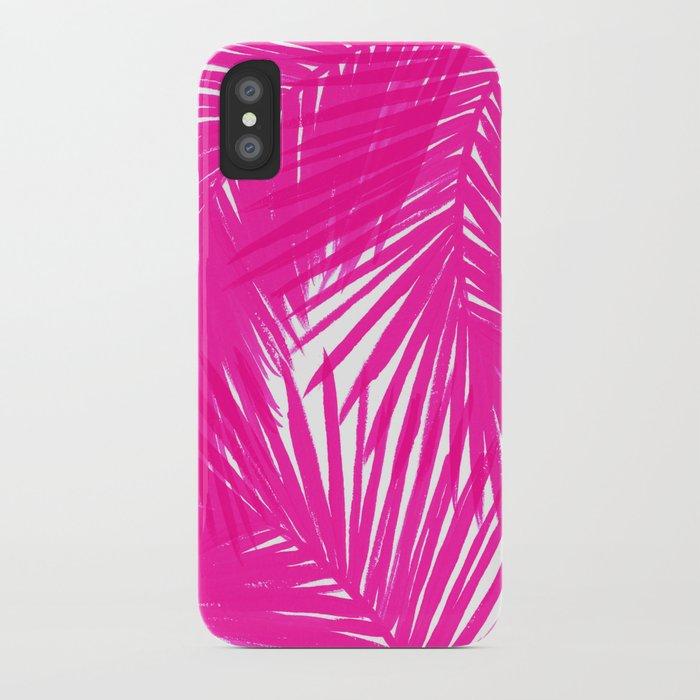 Palms Fuchsia iPhone Case