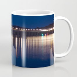 The River Tay at night Dundee Coffee Mug