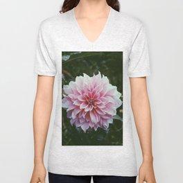 In the Eye of the Flower Unisex V-Neck