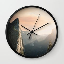 Mountains landscape 4 Wall Clock