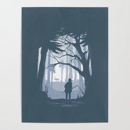 Ellie Hunting Poster