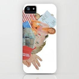 "Donald Trump Painting: ""Inside Trump's Locker"" iPhone Case"