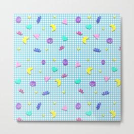 Confetti Grid Metal Print