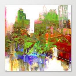 flip flop jazz Canvas Print