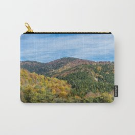 Colorful French mountains Carry-All Pouch