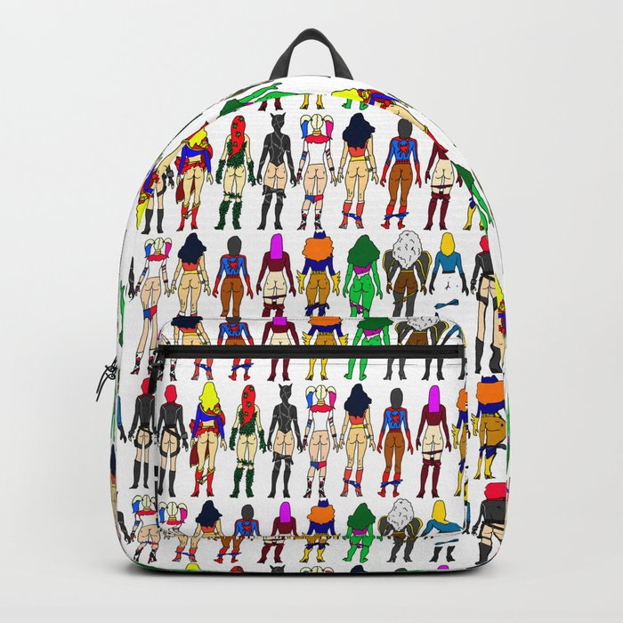 493543d875 Superhero Butts - Girls Superheroine Butts LV Backpack by notsniw ...