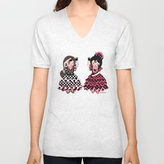 Flamenco Unisex V-Neck