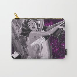 Retro Space Girl Carry-All Pouch