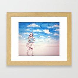 Little Piece of Heaven Framed Art Print