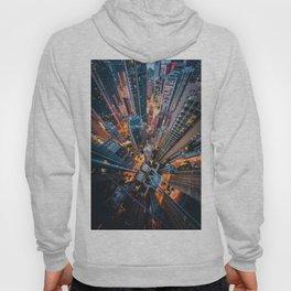 Aerial City Skyline (Color) Hoody