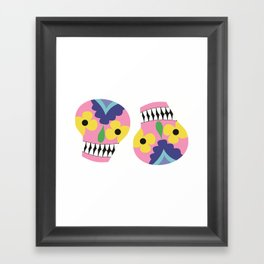 the twins Framed Art Print