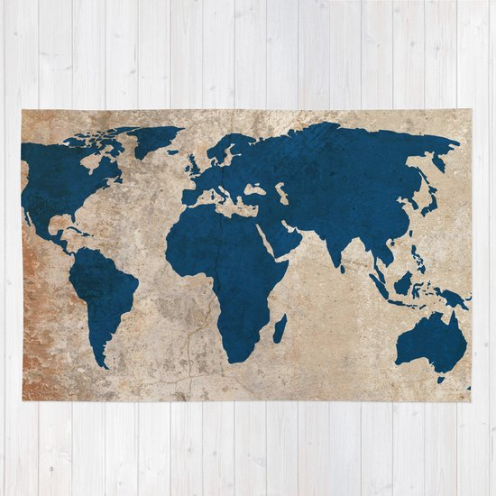 Rustic world map rug by bysamantha society6 gumiabroncs Choice Image