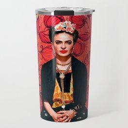 Frida enamorada Travel Mug