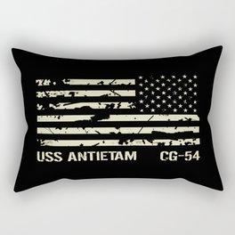 USS Antietam Rectangular Pillow