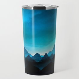 Night Storm In The Mountains Travel Mug