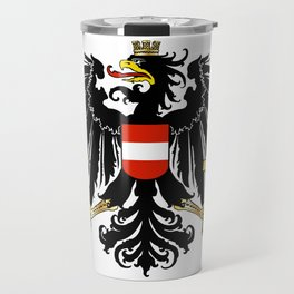 Austrian Coat of Arms Travel Mug
