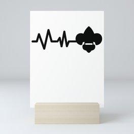 Pfadfinder Heartbeat Mini Art Print