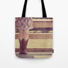 Thank God I Was Born a Country Girl Tote Bag