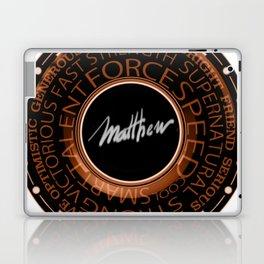 My Name is Mathew Laptop & iPad Skin