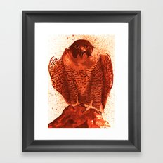 falcon 4 Framed Art Print