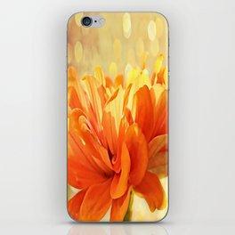 Glowing Marigold iPhone Skin