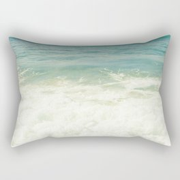 Ocean Beach Love Kapalua Blue Maui Hawaii Rectangular Pillow