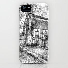 Greyfriars Kirk Edinburgh Vintage iPhone Case