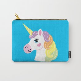 Heart Unicorn Carry-All Pouch