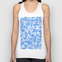 cherry blossom Tank Tops featuring Cherry Blossom by Elena O'Neill