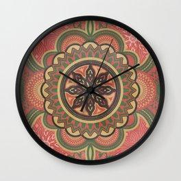 Floret_Flourish_PA_01c Wall Clock