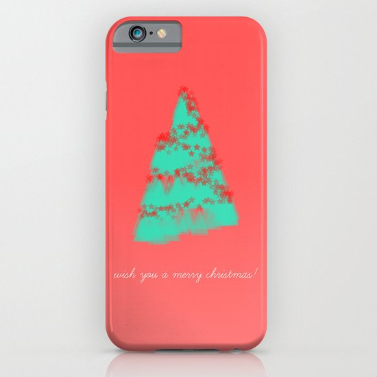 wish you a merry christmas! iPhone & iPod Case