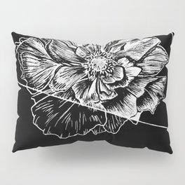 Geometric Flower Pillow Sham